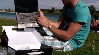 Acer Aspire One 722 Unboxing