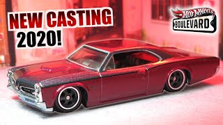 HOT WHEELS-Pontiac /'66 GTO-Boulevard-Voiture culture Premium