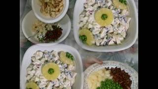 Russian Salad - Healthy Salad Recipe - Best Salad Recipe For All Parties - Diet Salad