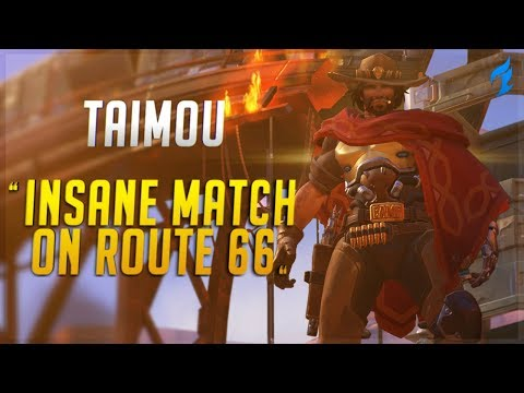 DF Taimou - INSANE Match on Route 66