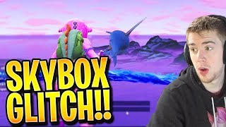 FORTNITE SKYBOX JUMP GLITCH + NO FALL DAMAGE TRICK! (Fortnite: Battle Royale) | TBNRKENWORTH