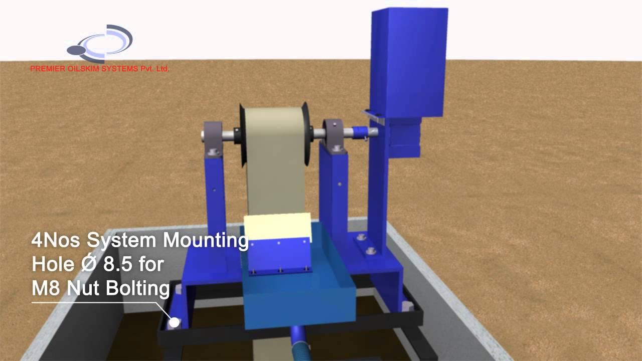 Download Oil Skimmer Animation