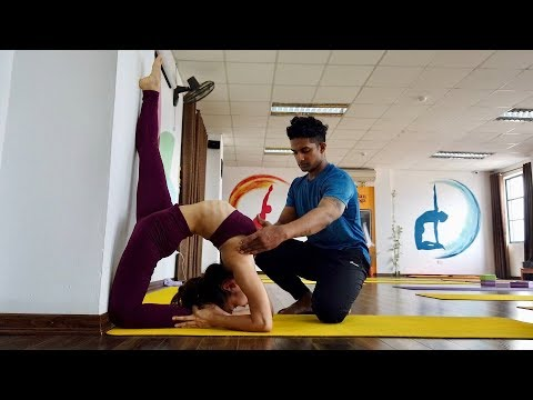 Advanced Yogasana Class Part-2 | Raja Gupta Yoga Class | Indian Yoga Teacher