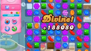 Candy Crush Saga   level 410 no boosters