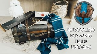 Personalized Hogwarts Trunk Unboxing (RAVENCLAW) Platform 9 3/4 Shop