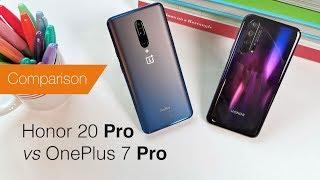 Honor 20 Pro vs OnePlus 7 Pro