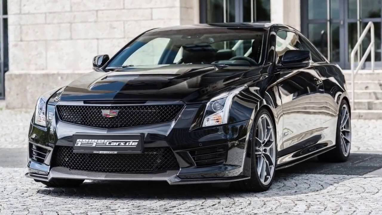 2016 Cadillac Ats V Coupe Twin Turbo Black Line By Geiger Cars Youtube