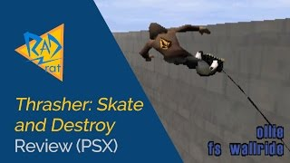 Thrasher: Skate and Destroy Review (PSX)