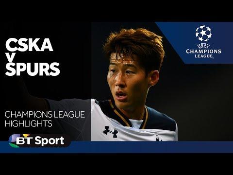 CSKA Moscow 0-1 Tottenham Hotspur | Champions League highlights