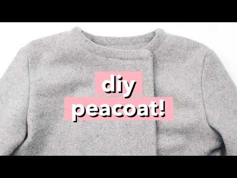 DIY Peacoat / Wool Pea Coat | WITHWENDY