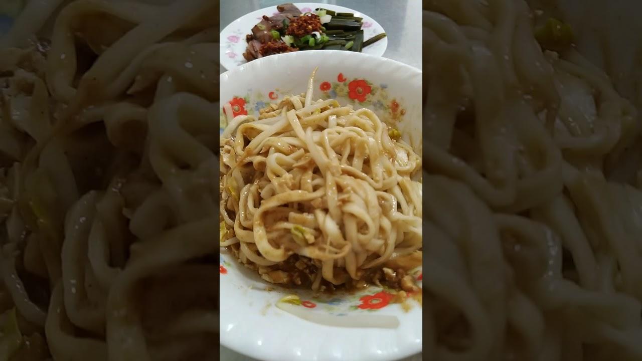 北港-阿扁陽春麵攤-麻醬麵 - YouTube