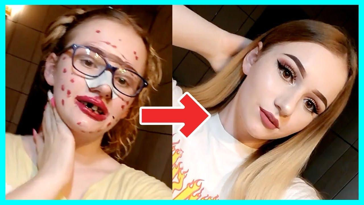 Crazy Makeup Transformations Tik Tok Makeup Compilation Youtube