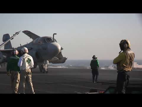 USA Aircraft Carriers Compilation, take off and landings.