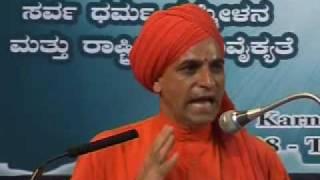 (1/2) Ahmadiyya: Swami Soumyananda at Inter-Religious Peace Conference 2008