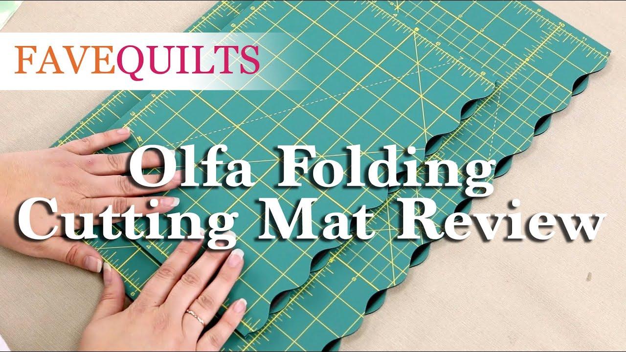 Olfa Folding Cutting Mat Review Youtube