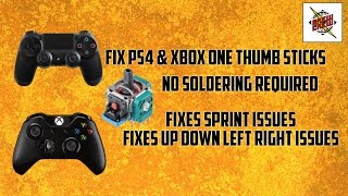 FIX YOUR CONTROLLER - WON'T RUN/SPRINT PROBLEM | PS4 - XBOX