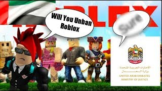 Will Roblox get unbaned in uae (Real)