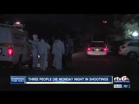 3 dead Monday night as Indianapolis violence continues