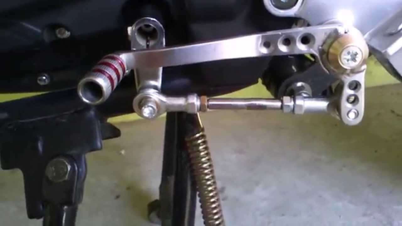 Модернизация лапки переключения передач мотоцикла