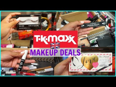 MAKEUP DEALS AND STEALS AT TJMAXX! LONDON EDITION 🇬🇧
