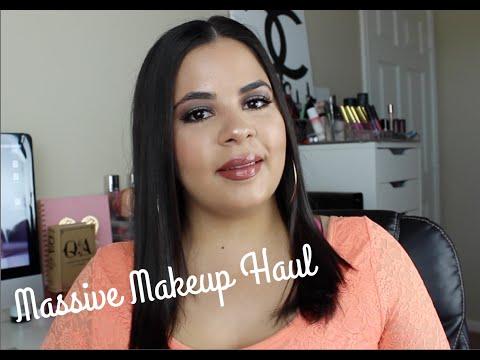Massive Makeup Haul