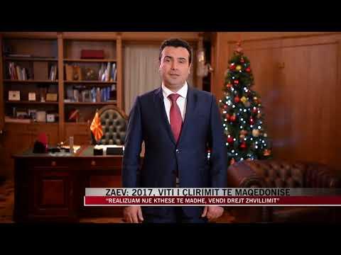 Zaev: 2017, viti i çlirimit të Maqedonisë - News, Lajme - Vizion Plus