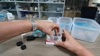 액체질소 (액화질소) 용기