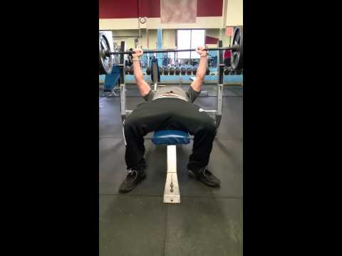 Brett Maher 225 bench press