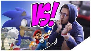 Mario VS Sonic (Nintendo VS Sega) | Death Battle! Reaction