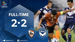 #ACL2020 : CHIANGRAI UNITED (THA) 2 - 2 MELBOURNE VICTORY (AUS) : Highlights