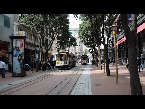 San Francisco (Powell Street, Trams and Union Square)