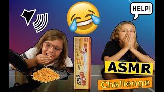 ASMR CHALLENGE ( elle est addicte aux cornflakes )