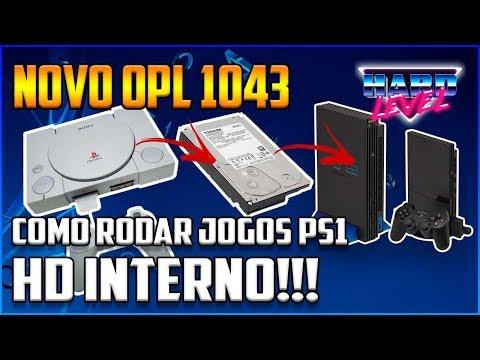 RODE JOGOS DE PS1 NO PS2 HD INTERNO COM O NOVO OPL E POPSTARTER MUITO MAIS  FACIL!!!
