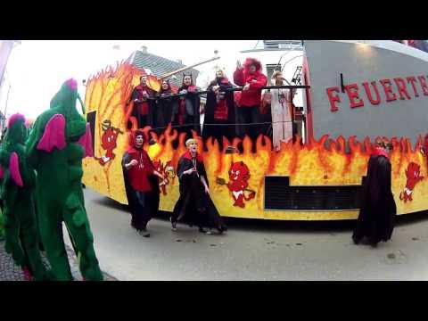 Faschingsumzug Burgau 2014