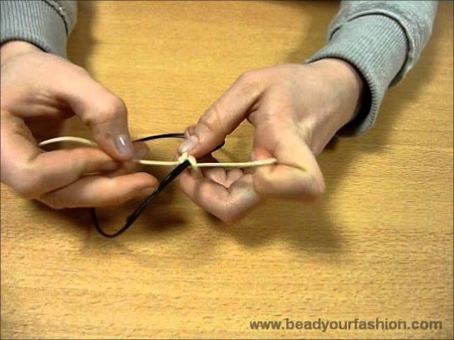 Beroemd Sieraden maken - Techniek 1: Knooptechnieken - YouTube #HV14