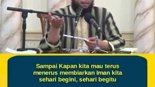 Gambar cover 1 minute Booster Ceramah Pendek, Ustadz Khalid Basalamah Iman Baja