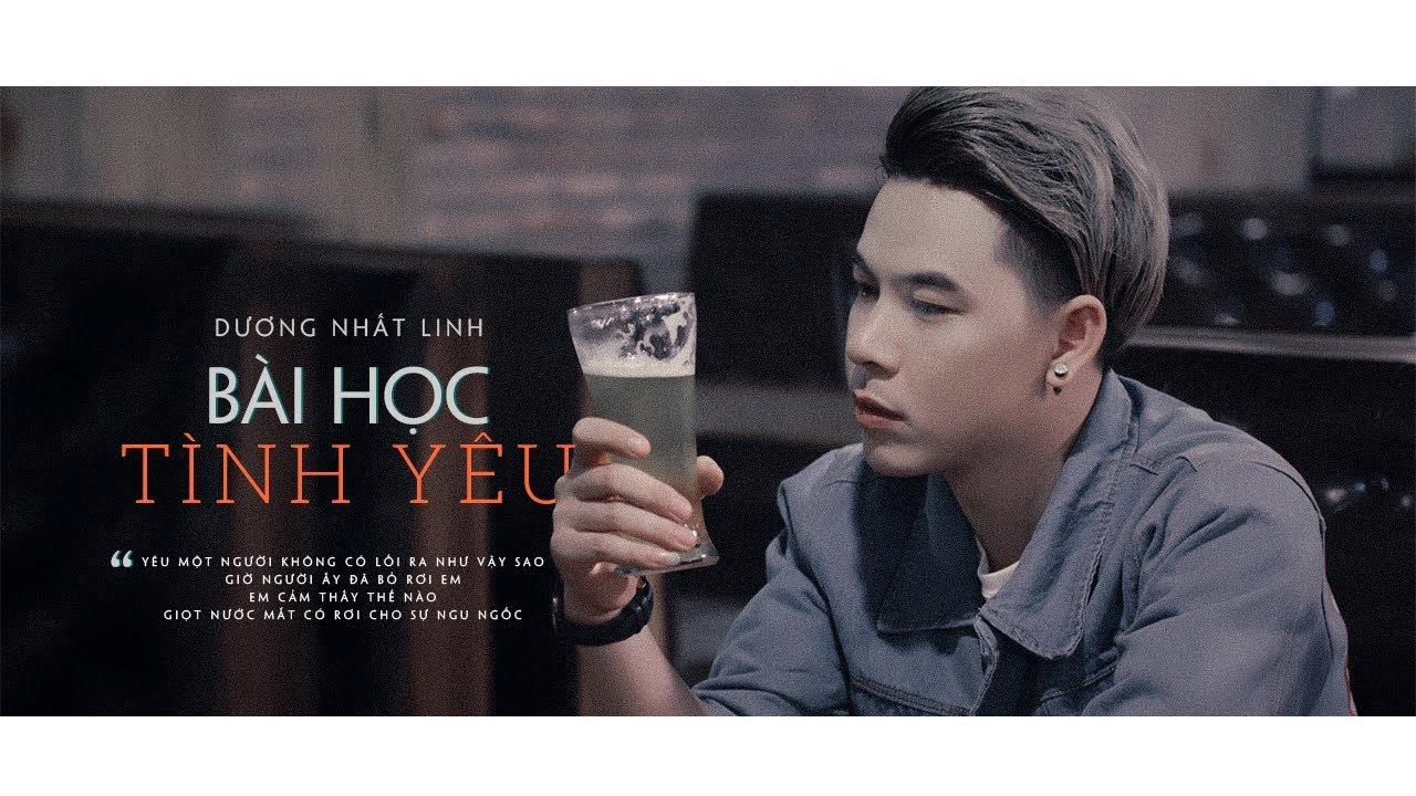 Bài Học Tình Yêu ♪ Dương Nhất Linh ||MV LYRIC ( #BHTY )