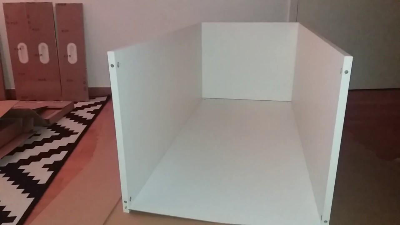 Ikea Kid Closetwardrobe Assembly Stuvagrundlig Part 2