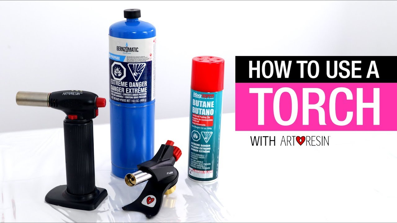 Why Use a Torch to Get Rid of Bubbles on Epoxy Resin? – ArtResin