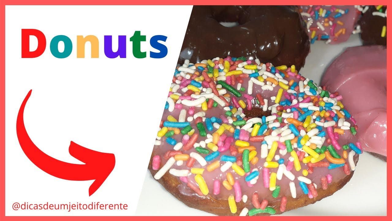 DONUTS - COMO FAZER DONUTS