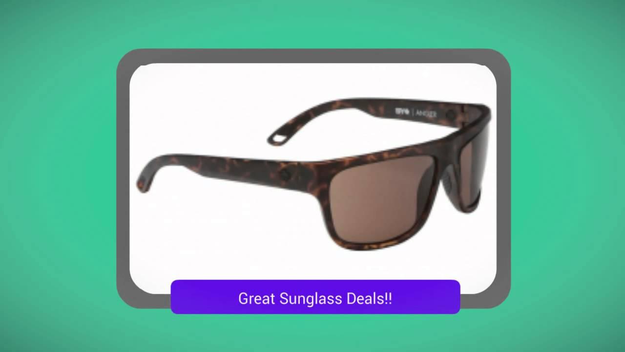 02c56ebae66 Mens Angler Spy Sunglasses - YouTube