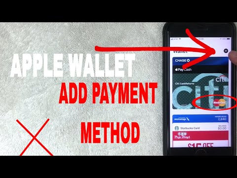 ✅  How To Add Credit Card Payment Method To Apple Pay Wallet 🔴