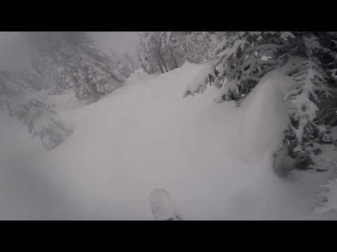 Whitefish, Montana:  Tree Run off the T-Bar