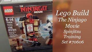 Let's Build - LEGO Ninjago Movie Spinjitzu Training Set #70606