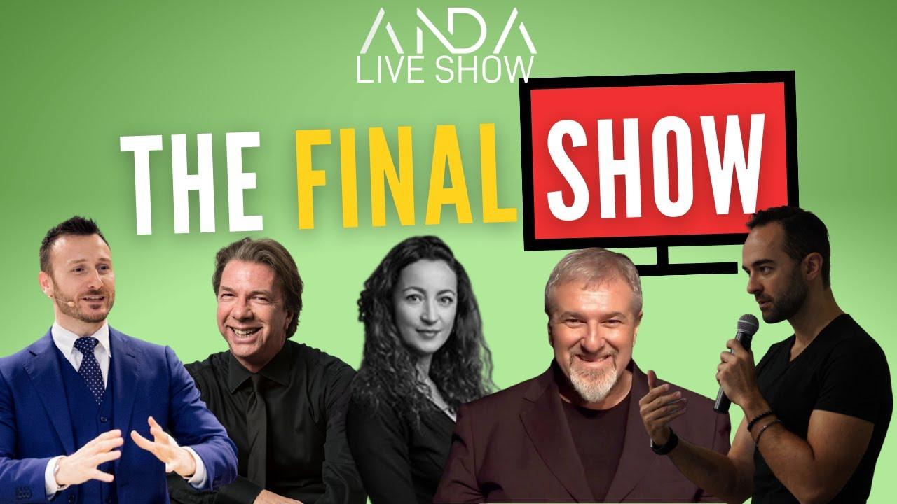 ANDA Final Live Show con Alex Poli, Massimiliano Litto e Simona Picchioni