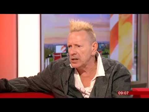 John Lydon Anger Is An Energy BBC Breakfast 2014