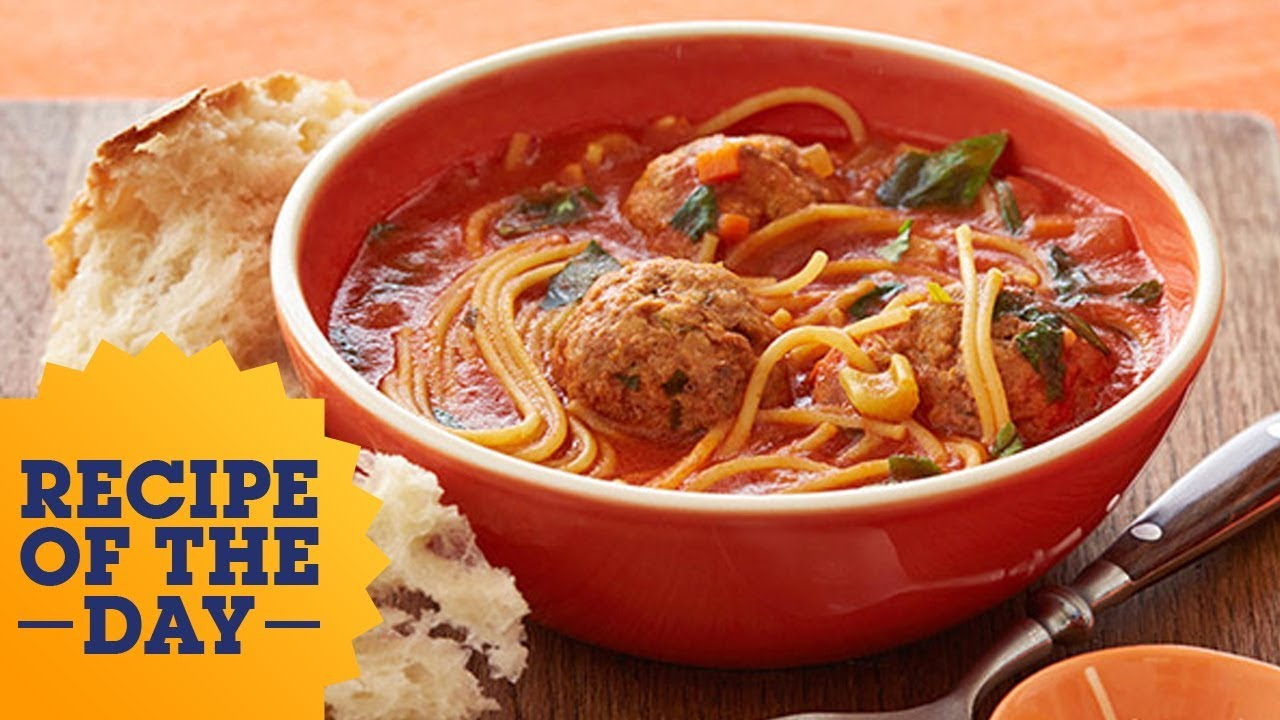 Recipe of the day rachaels spaghetti and meatball stoup food recipe of the day rachaels spaghetti and meatball stoup food network forumfinder Gallery