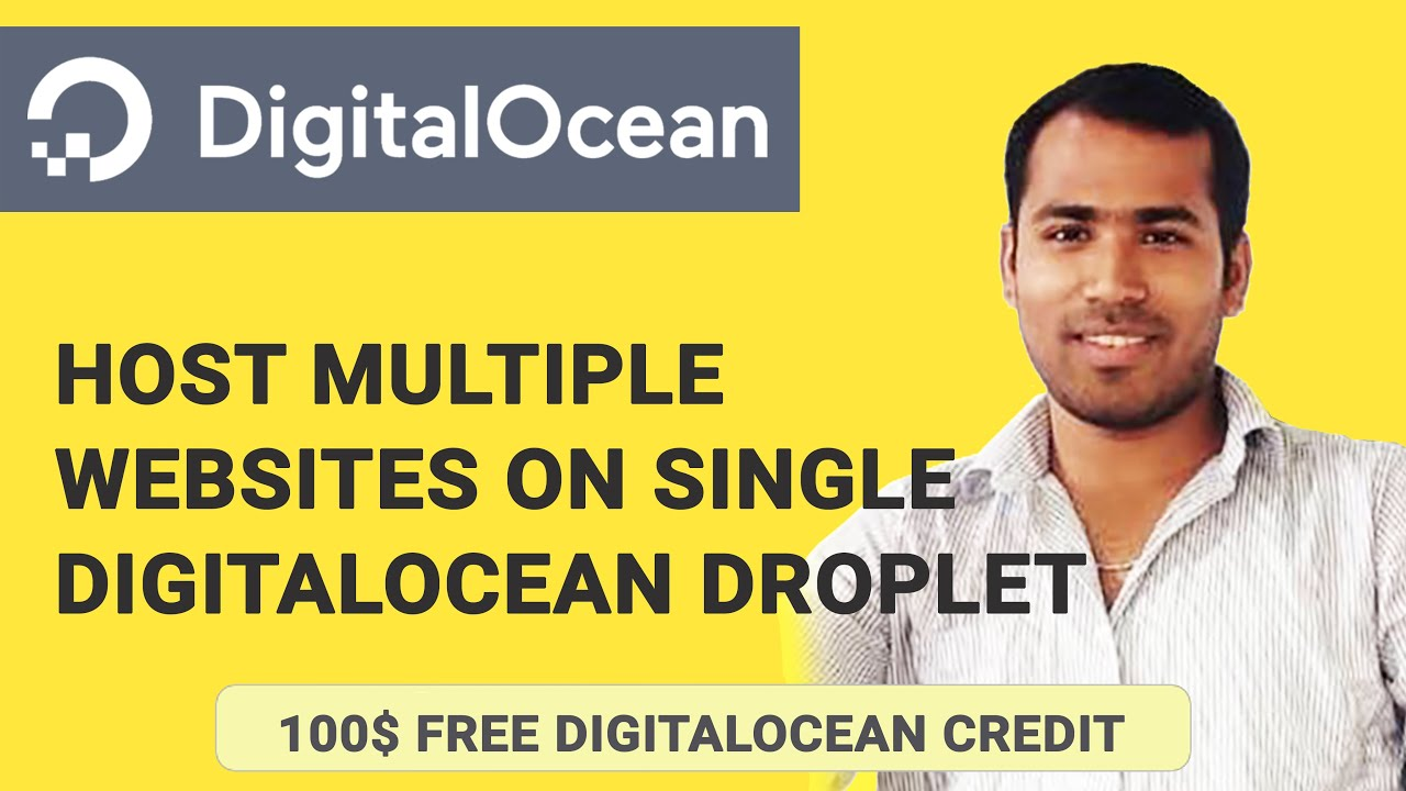 Host Multiple Websites on Single DigitalOcean Droplet or Redirect Domains  to one Droplet
