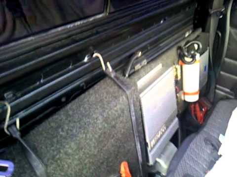 Audio Set up '97 Hardbody Pick up standard cab  YouTube
