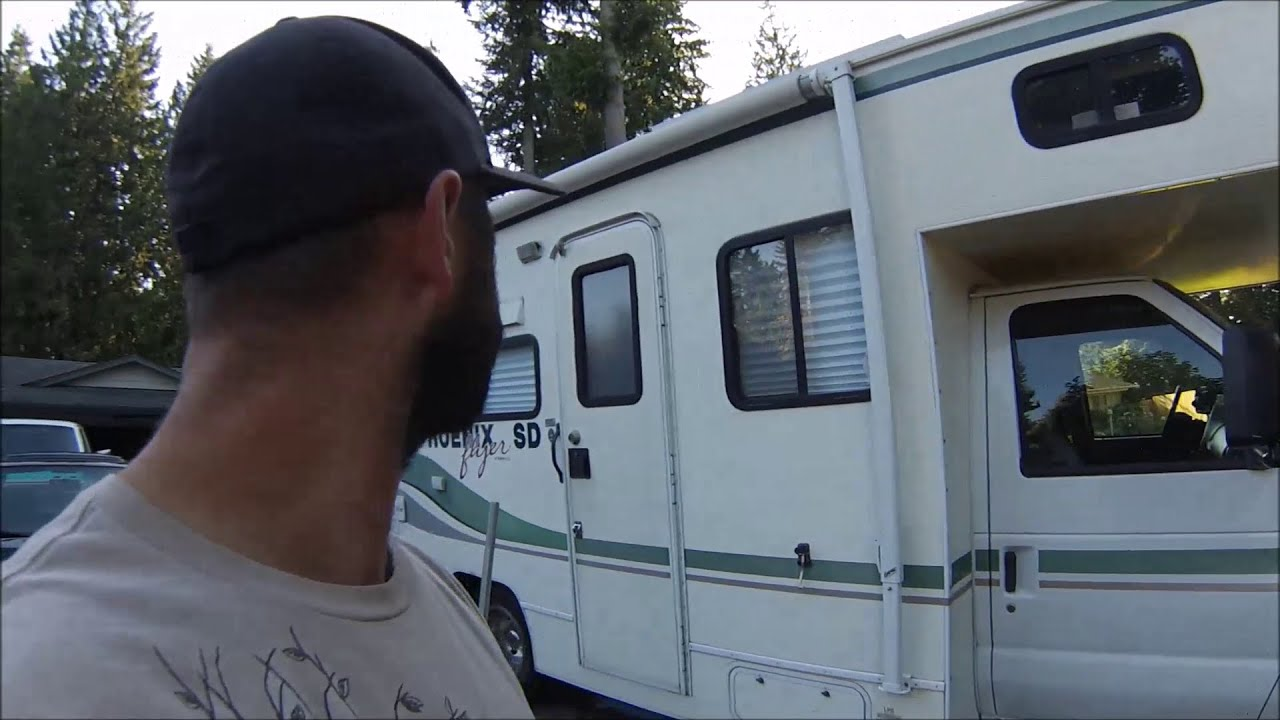 How I Fixed My Saggy Rv Entry Door Youtube